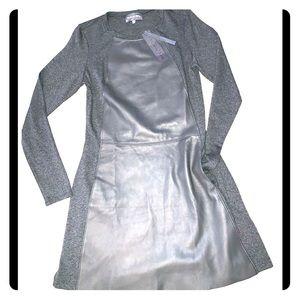 Michael Stars Long sleeve A-line mini dress